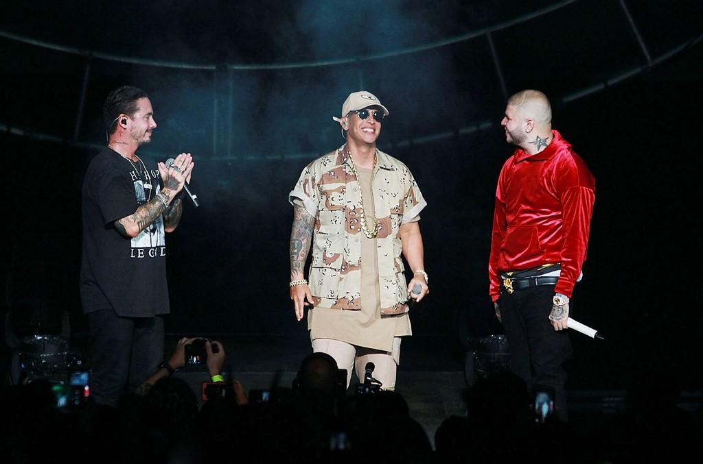 J Balvin, Daddy Yankee & Farruko