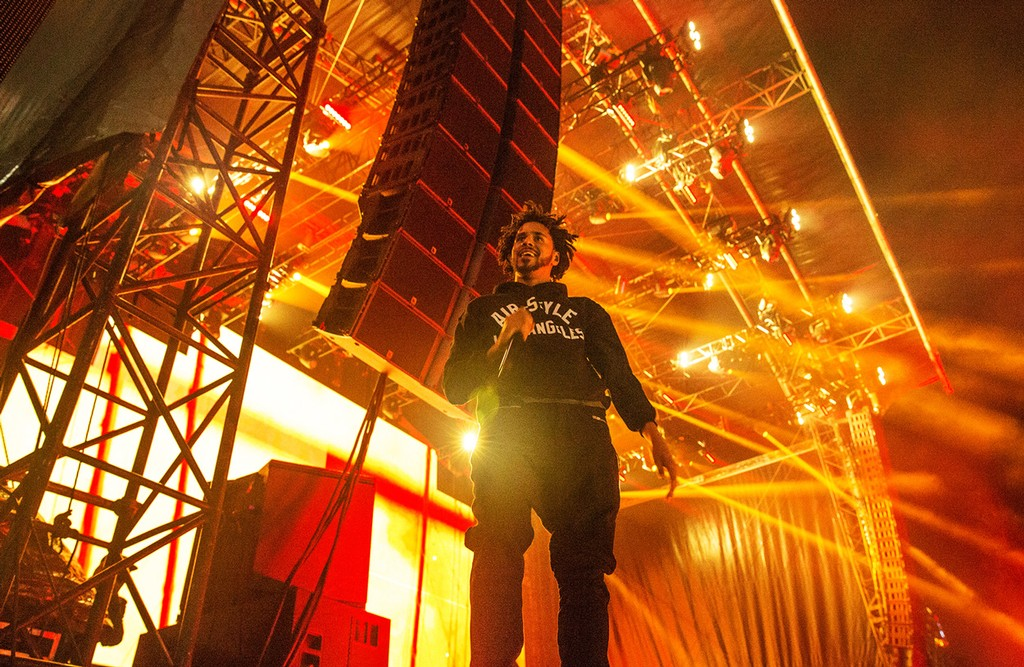 J Cole at Air + Style