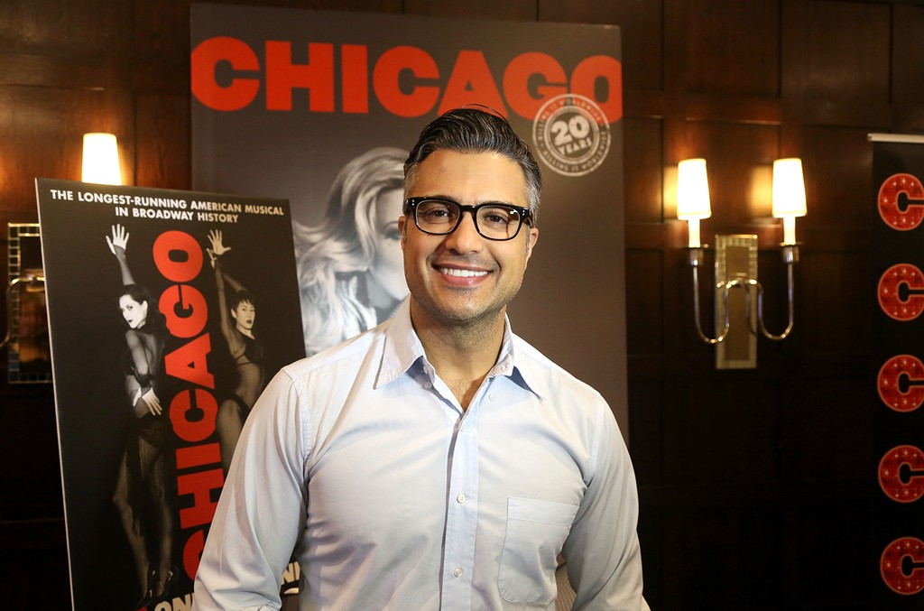 Jaime Camil at the Chicago Broadway press conference