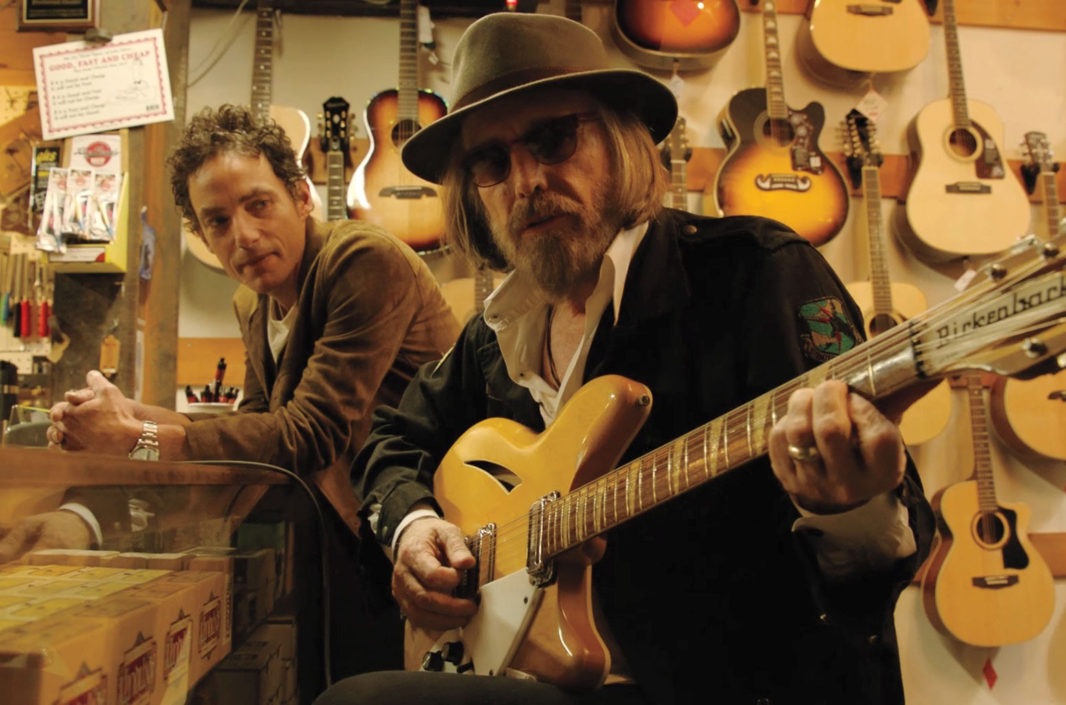 Jakob Dylan and Tom Petty
