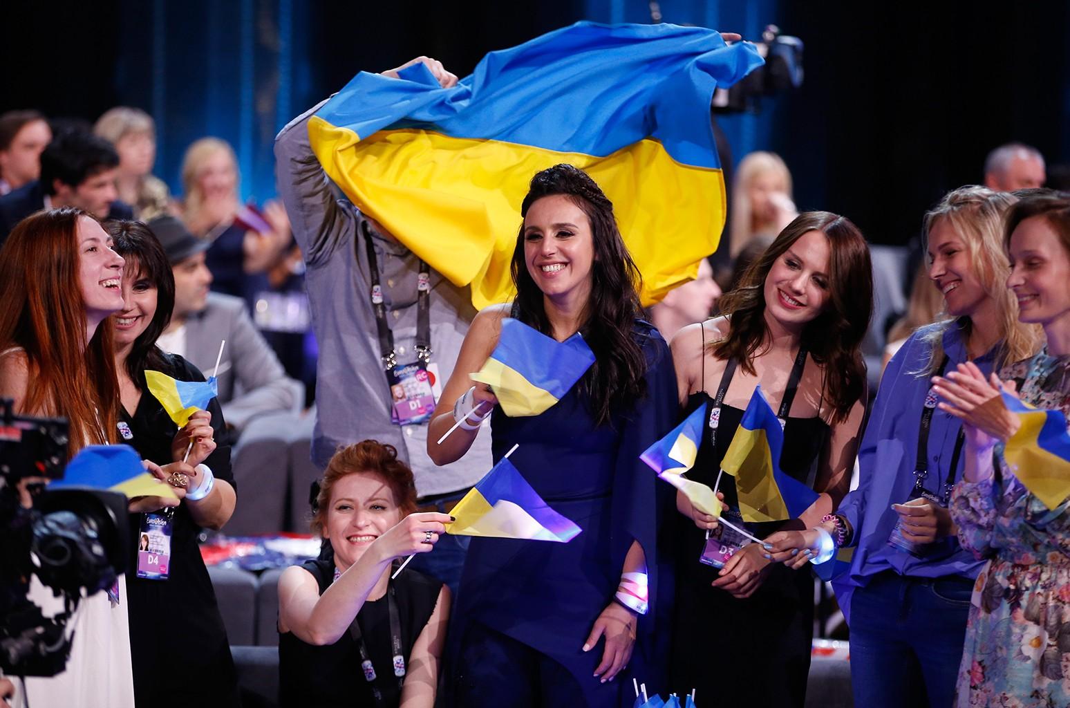 Jamala representing Ukraine, eurovision