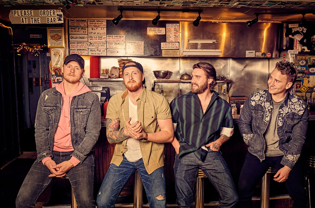 James Barker Band Ring In Summer with Feel-Good 'There's a Drink ...