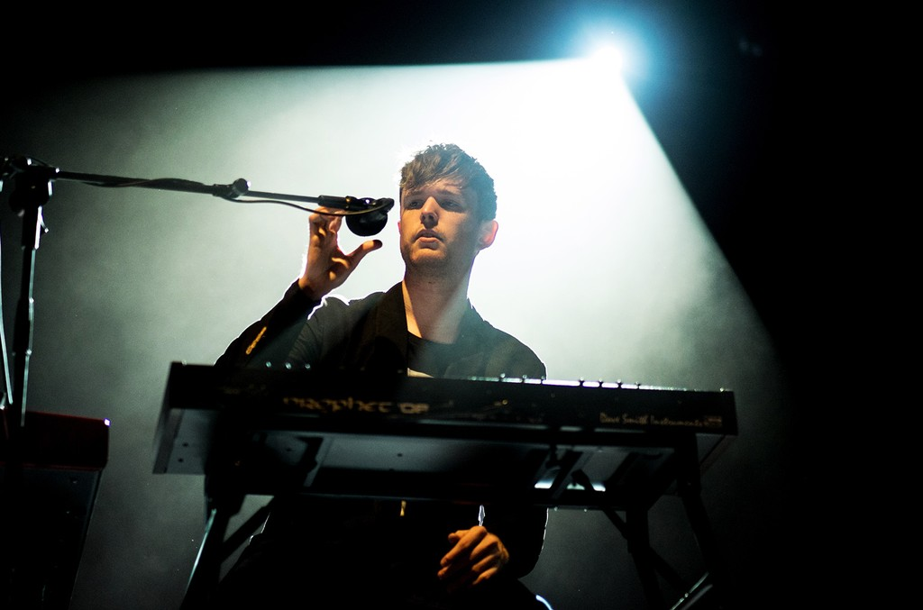 James Blake performs on Day 2 of the NOS Alive Festival on July 10, 2015 in Lisbon, Portugal.
