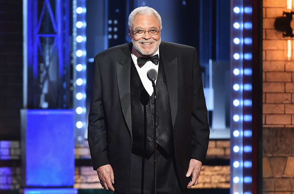 James Earl Jones accepts the Special Tony Award for Lifetime Achievement in the Theatre onstage during the 2017 Tony Awards at Radio City Music Hall on June 11, 2017 in New York City.
