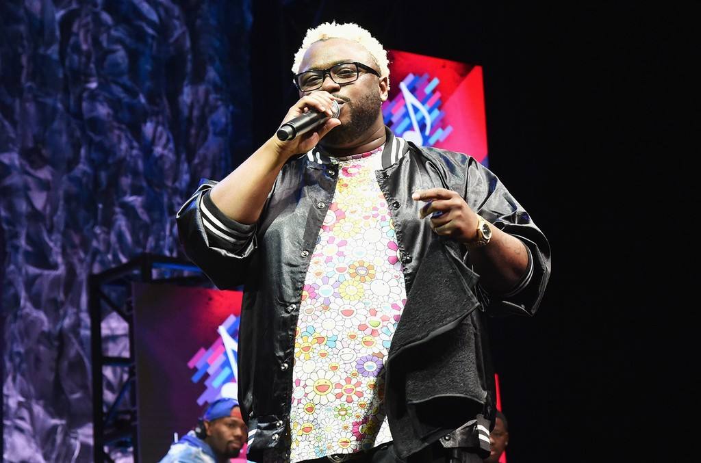 """James Fauntleroy speaks onstage at the 2016 ASCAP """"I Create Music"""" EXPO on April 29, 2016 in Los Angeles."""