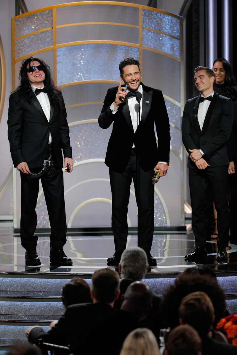 James Franco, Tommy Wiseau and Dave Franco