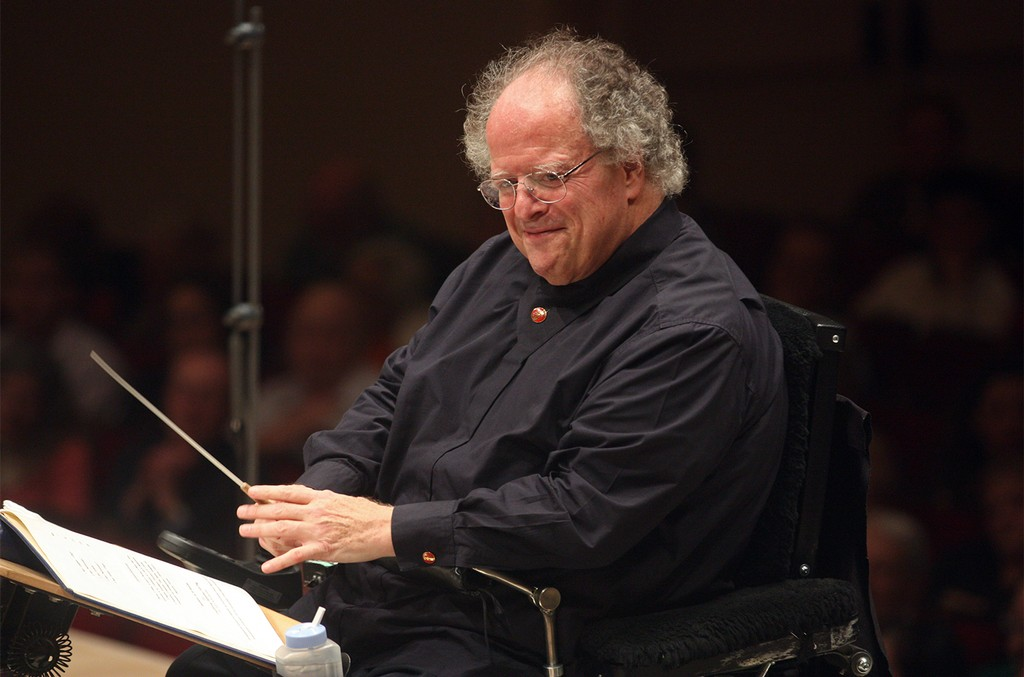 James Levine at The Met Orchestra performing all-Mahler program at Carnegie Hall on Dec. 22, 2013.