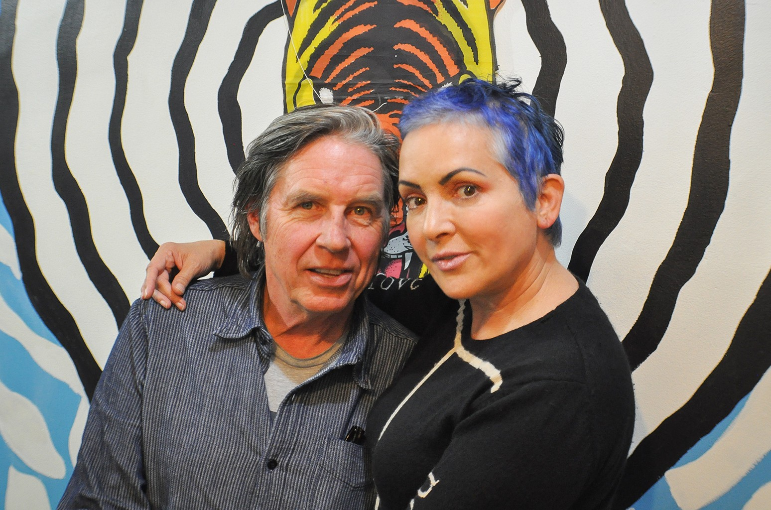 John Doe and Jane Wiedlin 2016