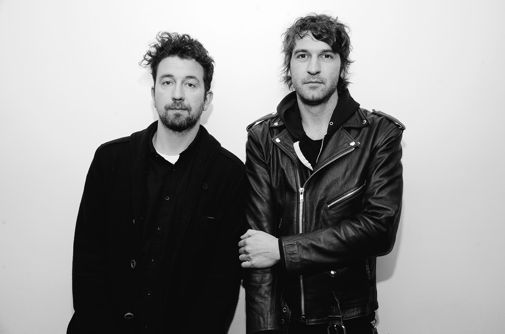David Prowse and Brian King of the band Japandroids visit at SiriusXM Studio on Oct. 27, 2016 in New York City.