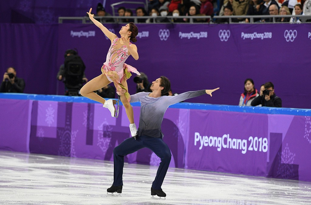 Japan's Kana Muramoto and Japan's Chris Reed
