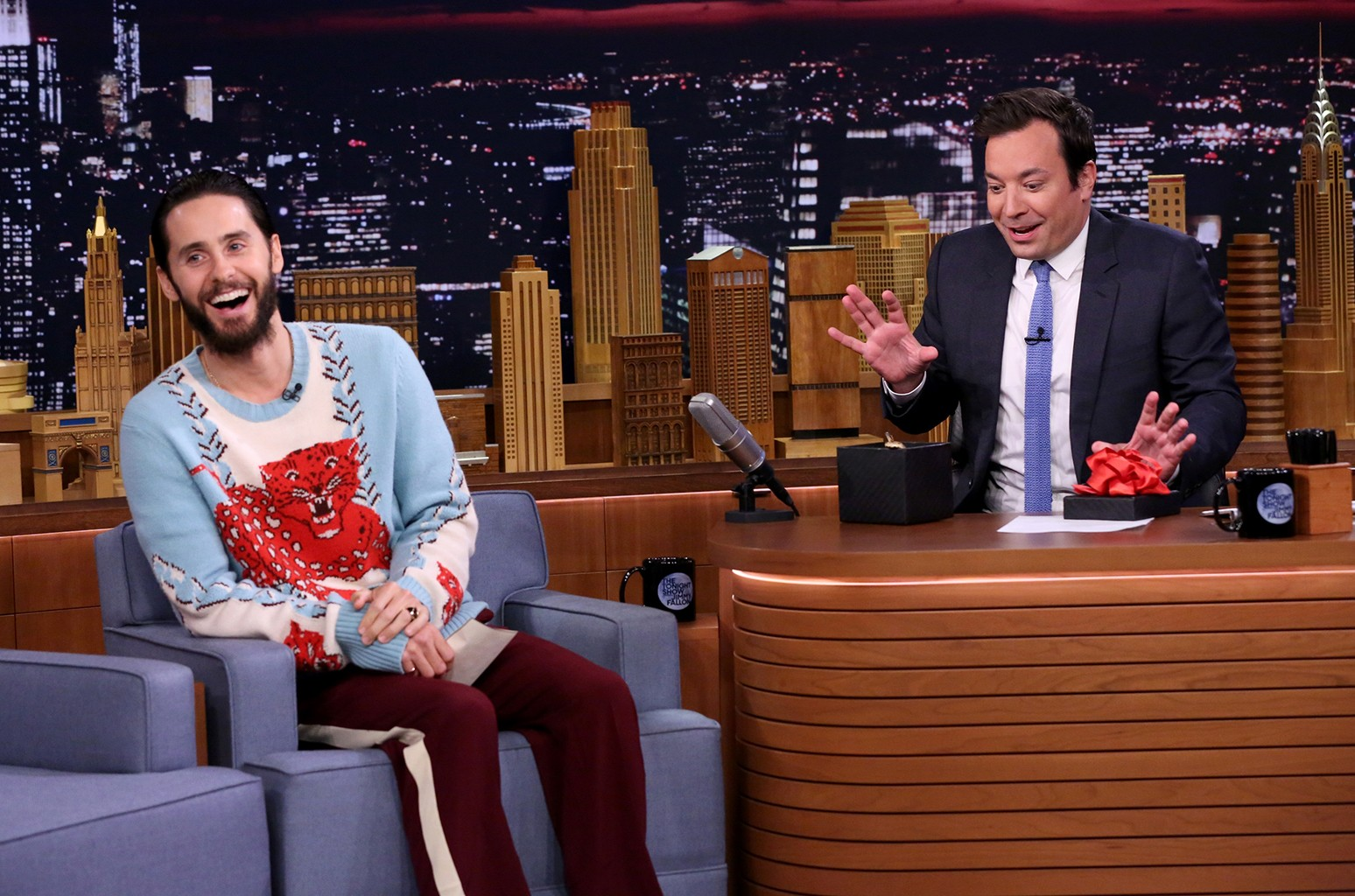 Jared Leto on 'The Tonight Show'