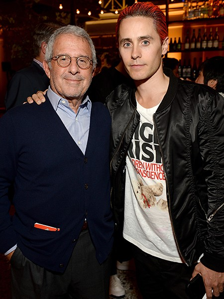 Ron Meyer and actor Jared Leto