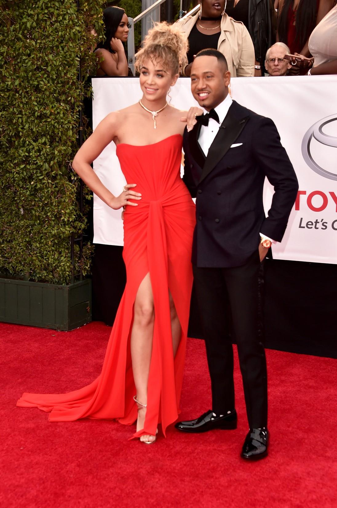 Jasmine Sanders and Terrence J