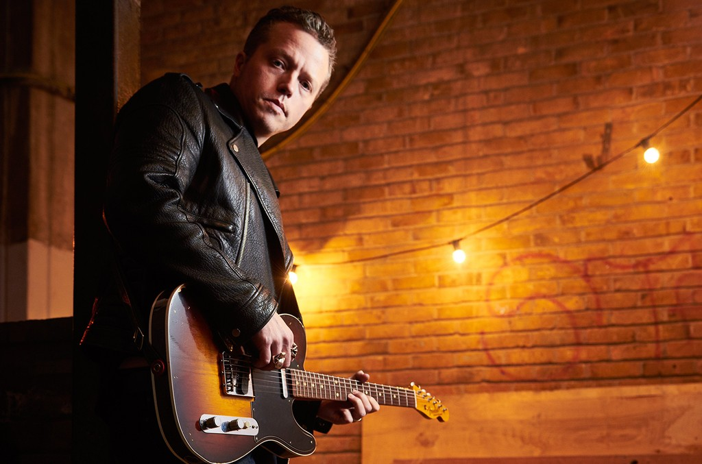 Jason Isbell photographed before a live performance at the O2 Academy in Bristol on Jan. 20, 2016.