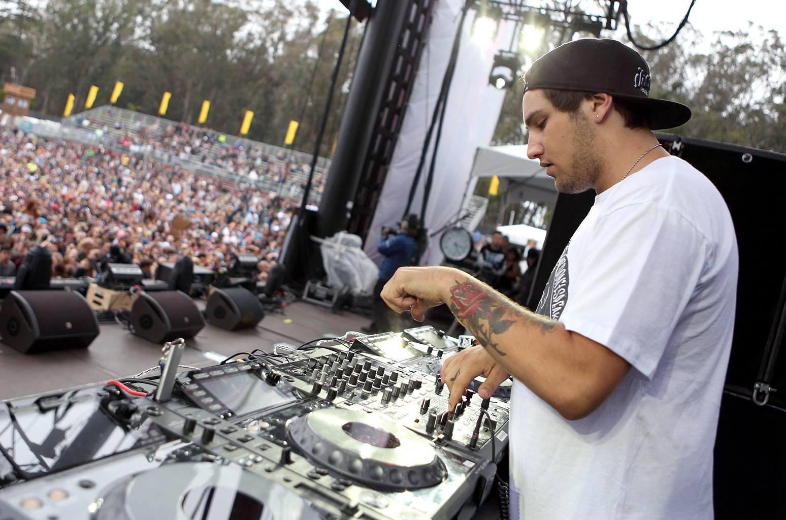 DJ Jauz performs during the 2016 Outside Lands Music And Arts Festival