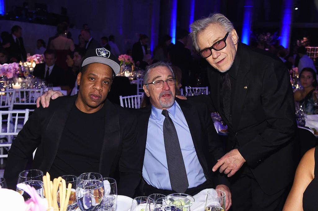 Jay Z, Robert De Niro, and Harvey Keitel