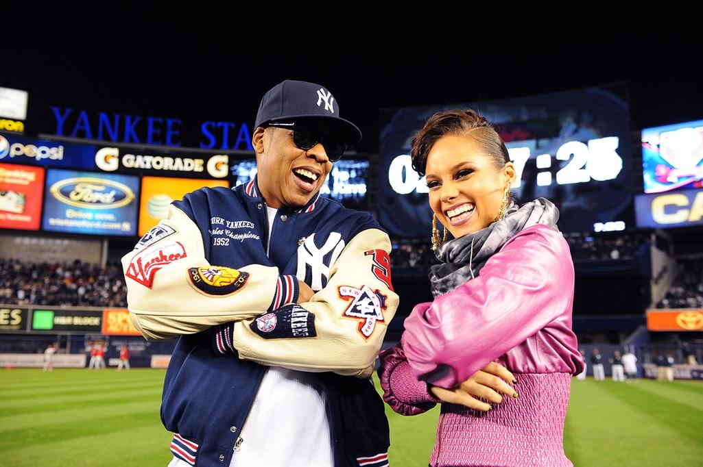 Jay-Z and Alicia Keys