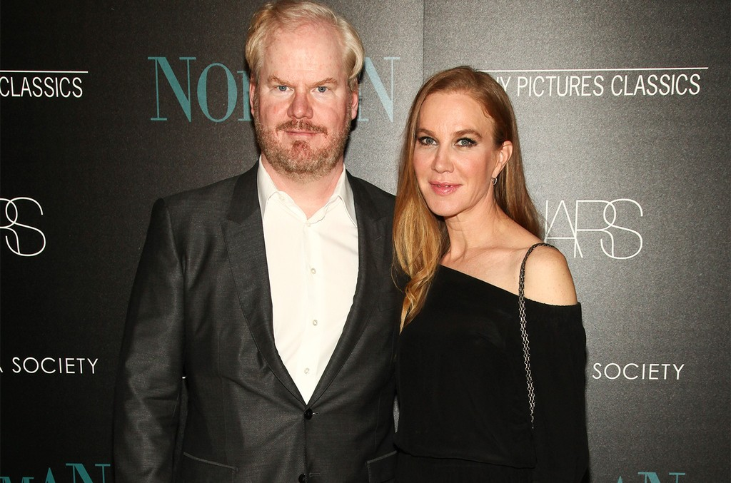 "Jim and Jeannie Gaffigan attend a special screening of Sony Pictures Classics' ""Norman"", hosted by The Cinema Society, at The Whitby Hotel on April 12, 2017 in New York."