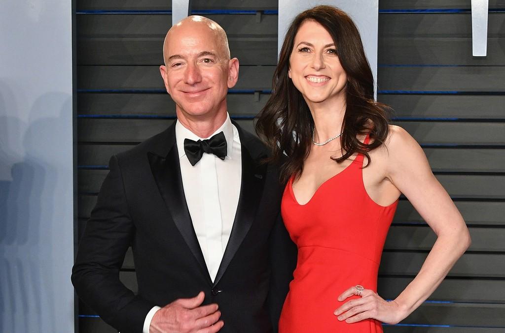 Jeff Bezos MacKenzie Bezos