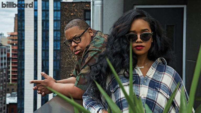 <p>Jeff Robinson and H.E.R. &shy&#x3B;photographed on Sept. 6, 2019 at Good Behavior at MADE Hotel in New York.</p>