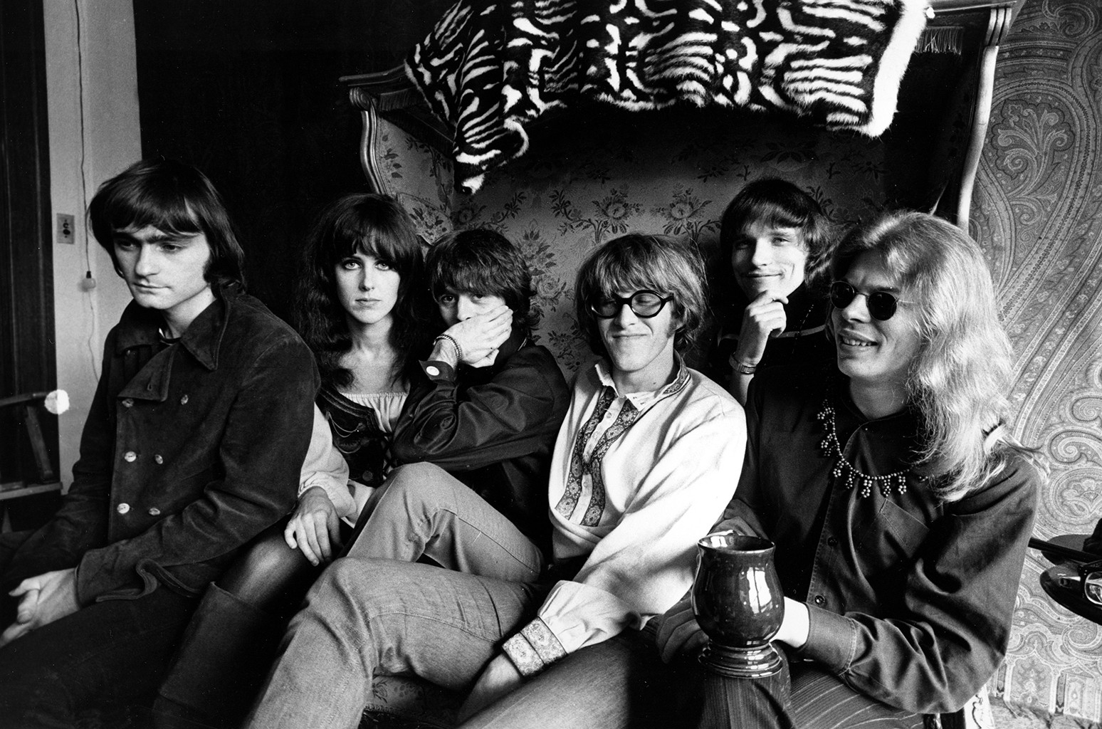 Jefferson Airplane photographed in San Francisco, Calif. on March 8, 1968.