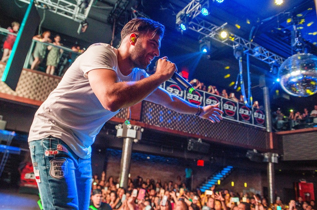 Jencarlos Canela performs at Stage 48 on May 25, 2016 in New York City.