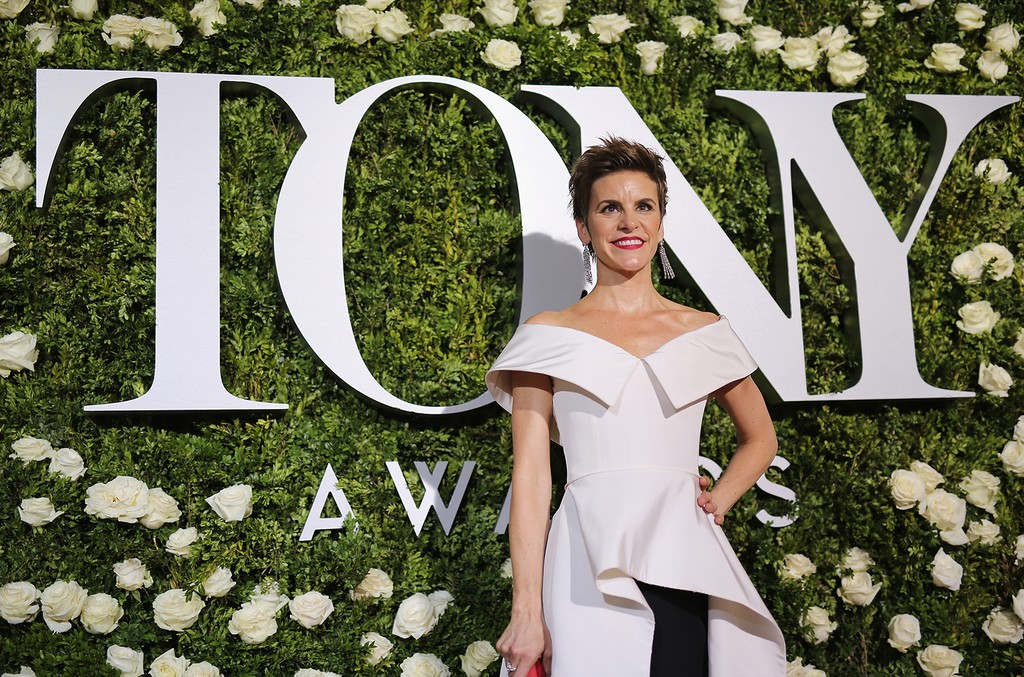 Jenn Colella attends the 2017 Tony Awards at Radio City Music Hall on June 11, 2017 in New York City.