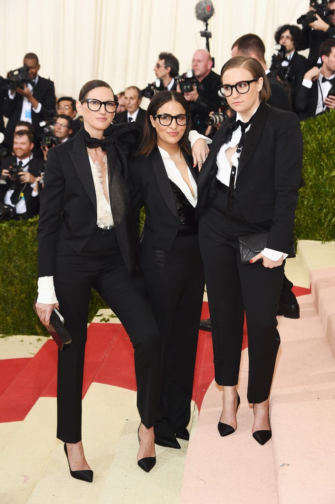 Jenna Lyons, Jennifer Konner, and Lena Dunham