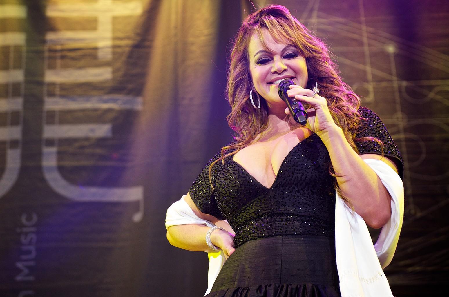 Jenni Rivera performs in San Diego