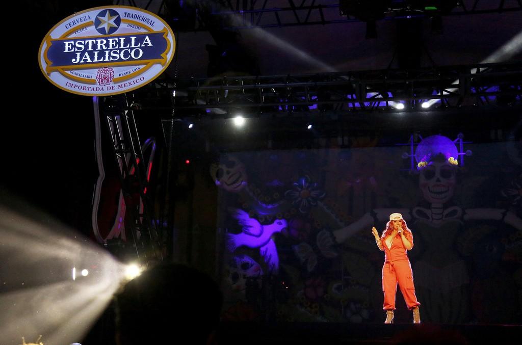 Estrella Jalisco celebrates Jenni Rivera