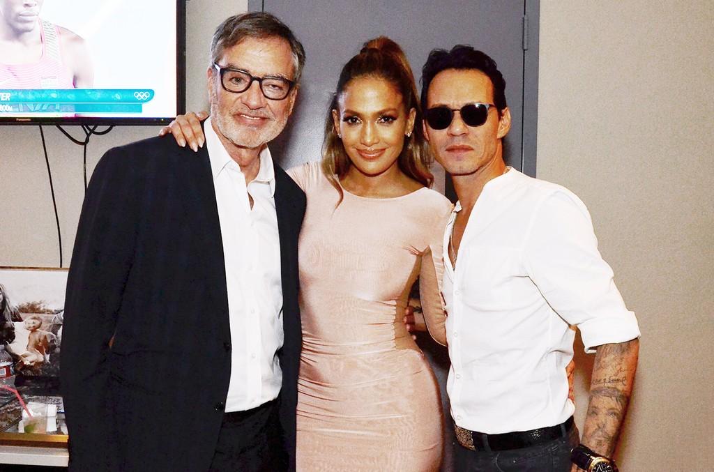 Jennifer Lopez, Marc Anthony & Bob Pittman