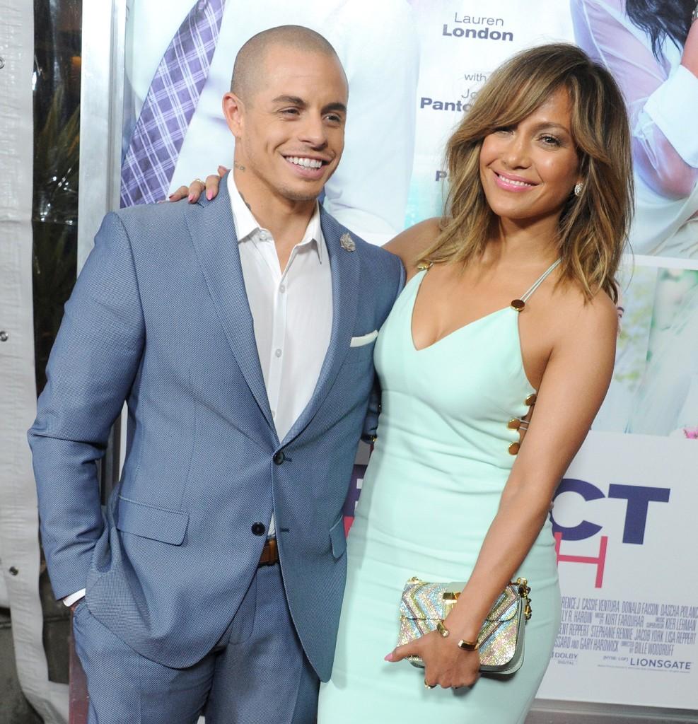 Jennifer Lopez and Casper Smart 2016
