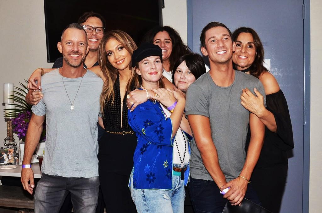 Jennifer Lopez & Drew Barrymore