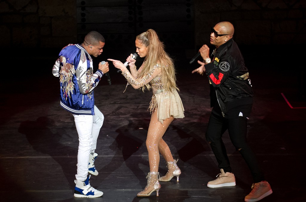 Jennifer Lopez and Gente de Zona