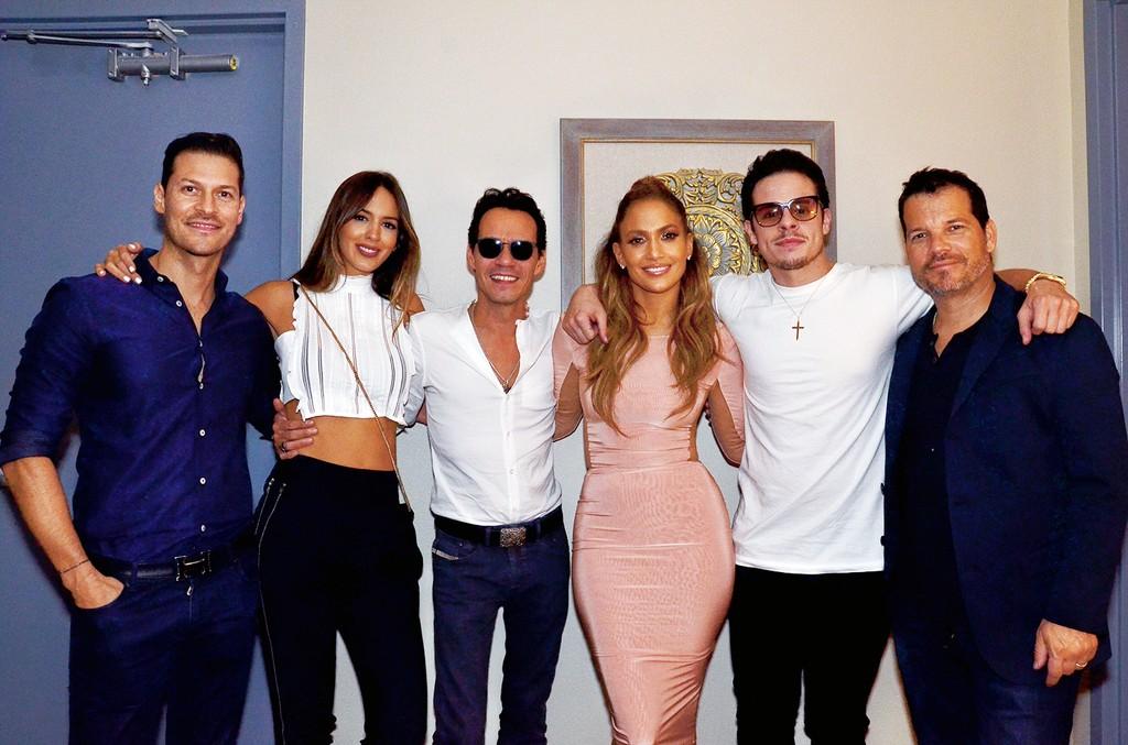 Jennifer Lopez, Marc Anthony & Family