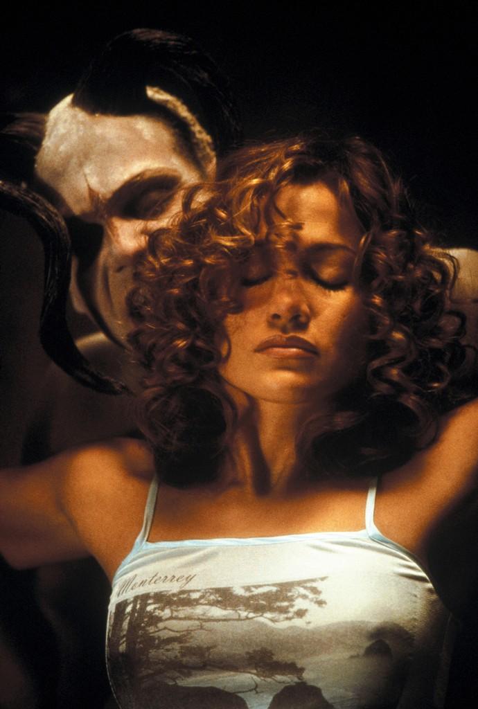 Jennifer Lopez in The Cell in 2000.