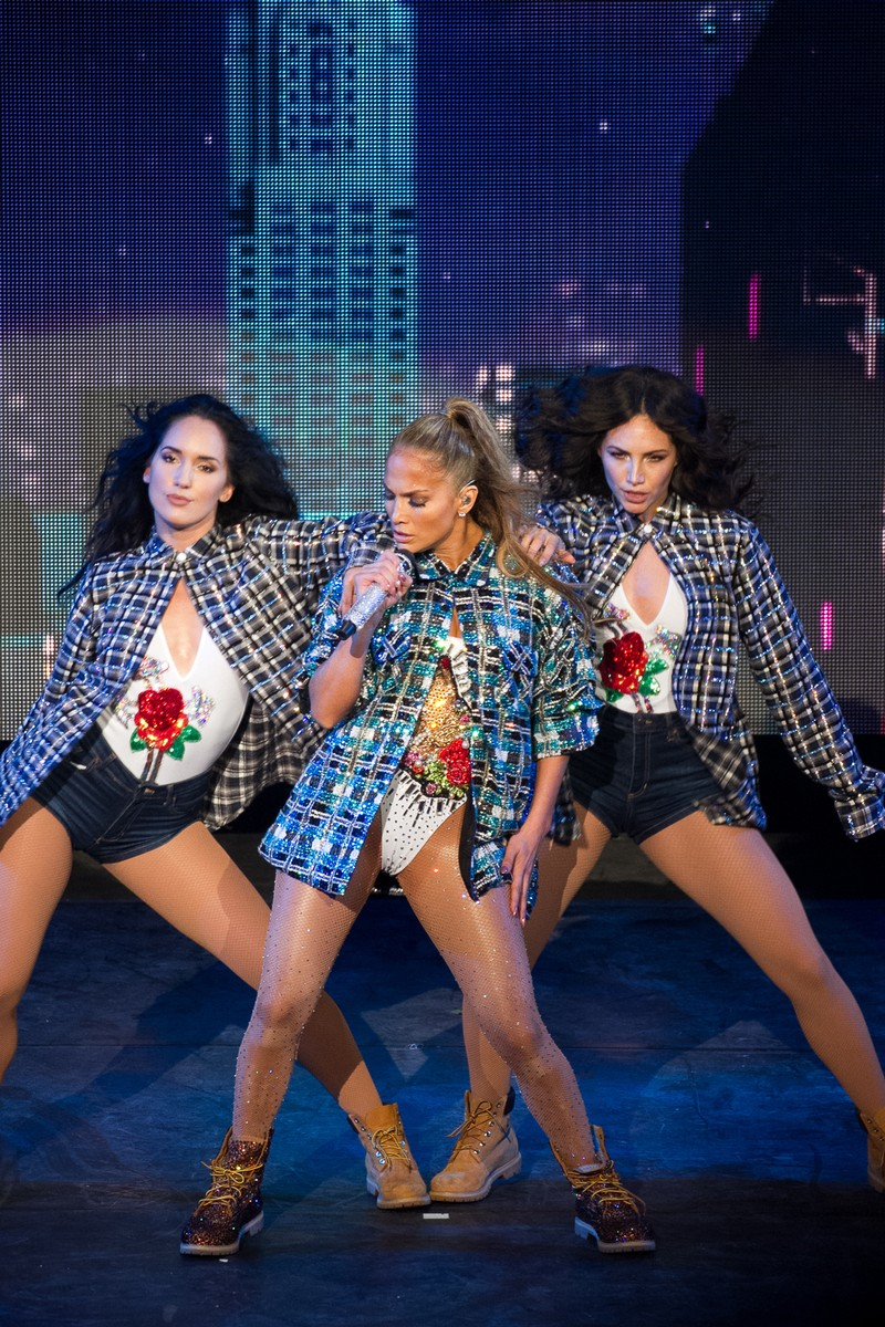 Jennifer Lopez performs at Casa de Campo Resort & Villas.