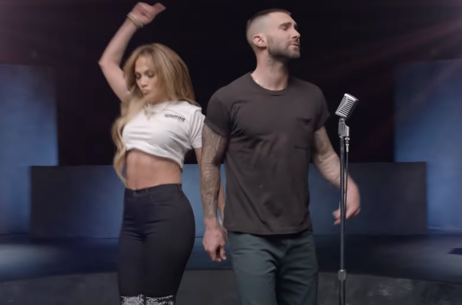 Maroon 5 S Girls Like You All The Women In The Video Billboard Billboard