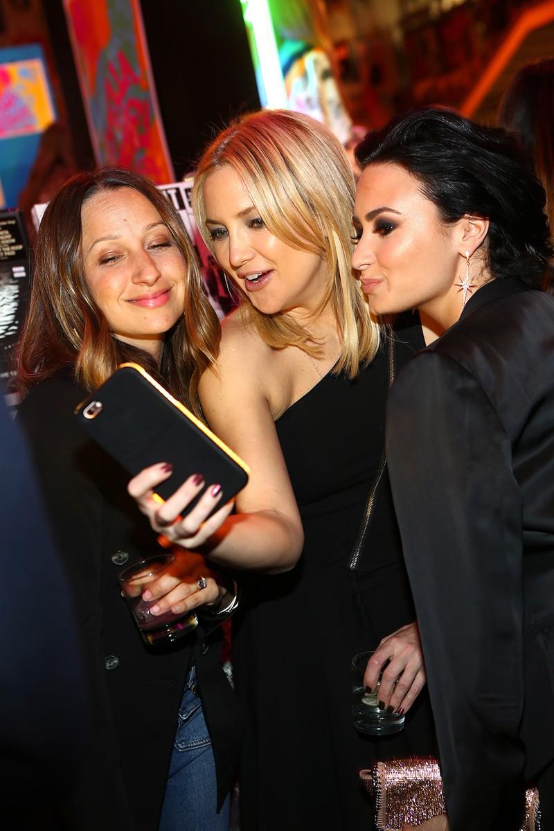 Jennifer Meyer, Kate Hudson and Demi Lovato