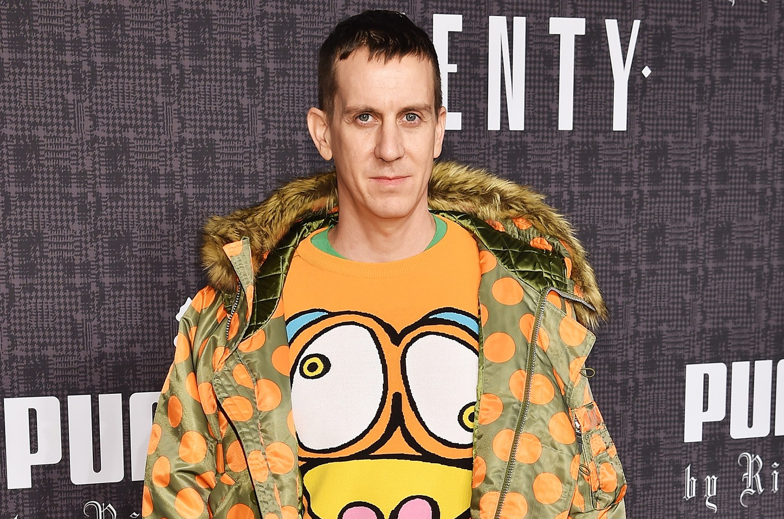 Jeremy Scott attends the FENTY PUMA by Rihanna AW16 Collection during Fall 2016 New York Fashion Week at 23 Wall Street on Feb. 12, 2016 in New York City.