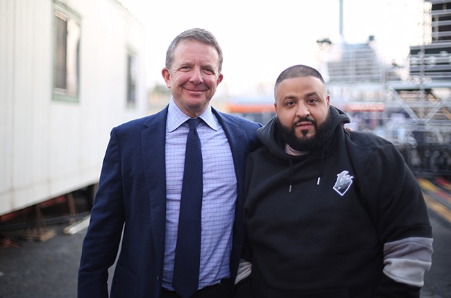 Jeremy Zimmer and Khaled