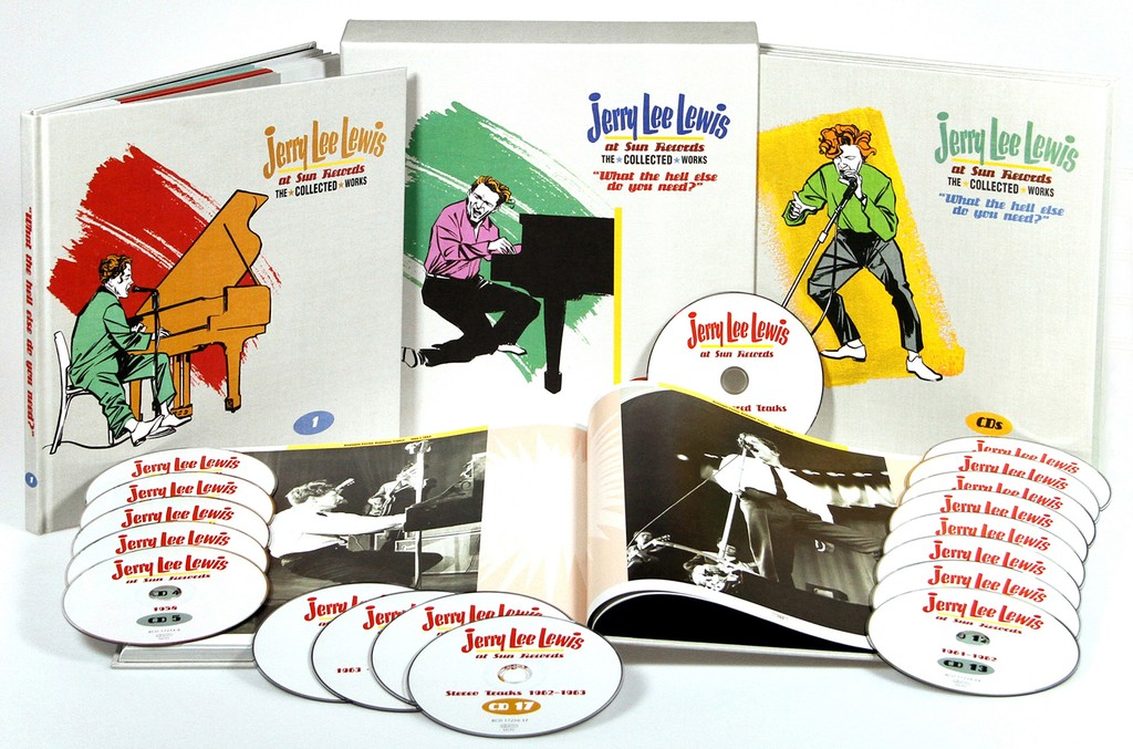 'At Sun Records: The Collected Works' by Jerry Lee Lewis
