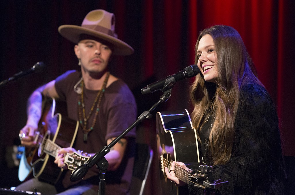 Jesse y Joy perform at The Grammy Museum
