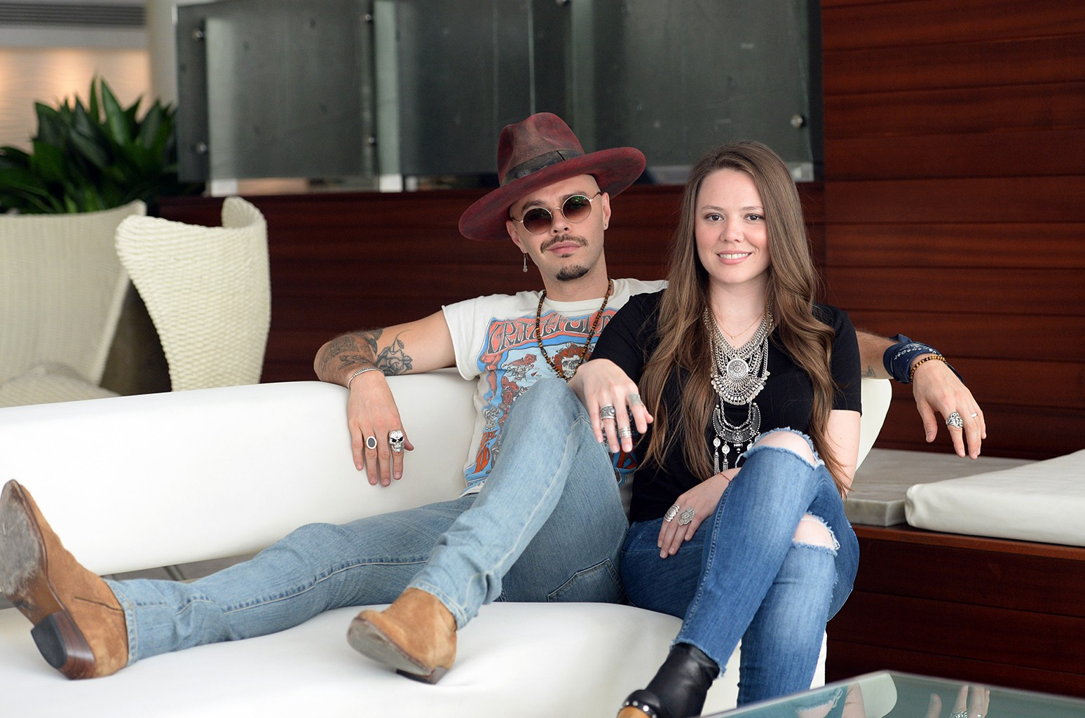 ?Jesse y Joy photographed in 2016