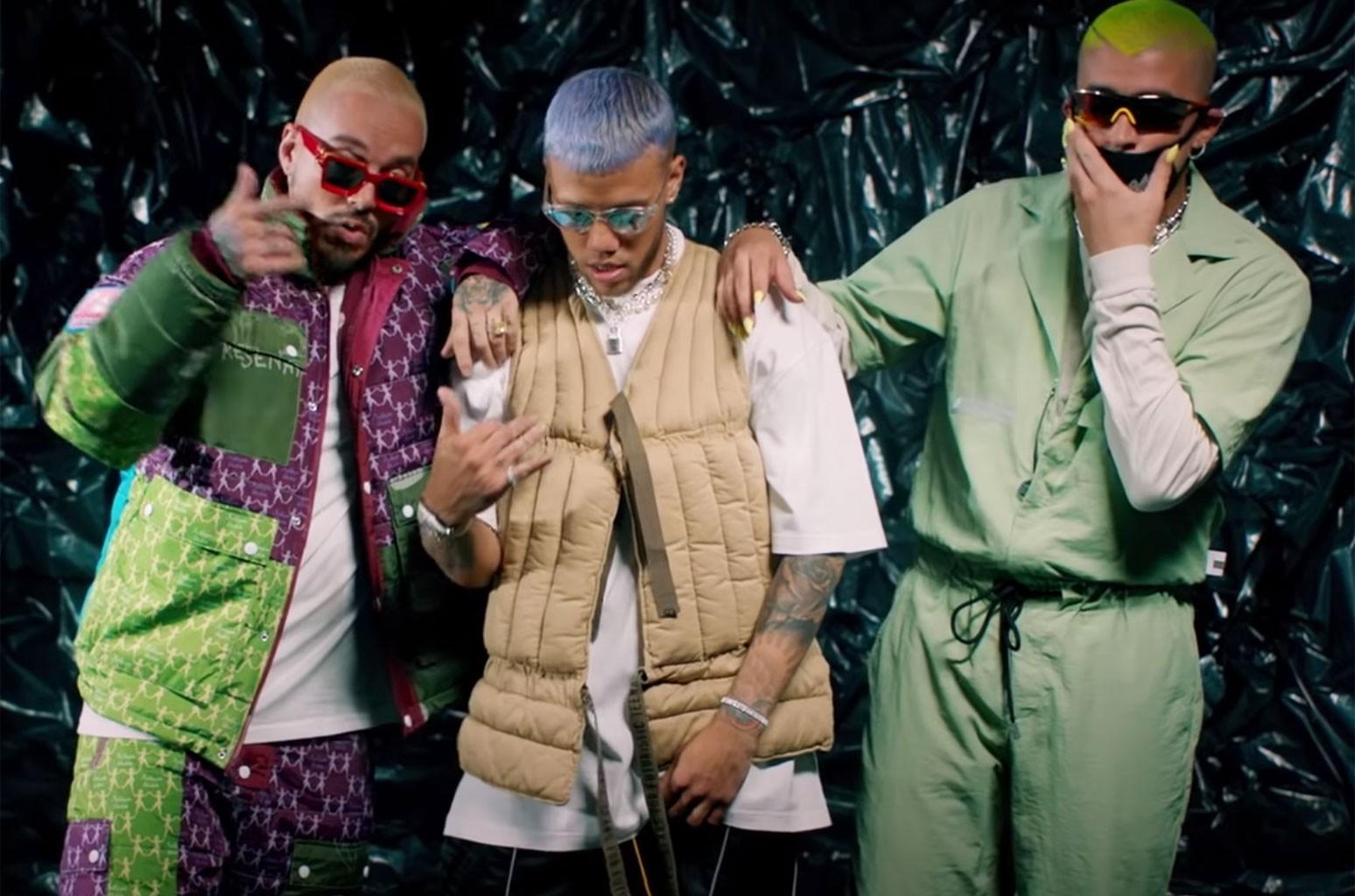 Jhay Cortez, J. Balvin, Bad Bunny - No Me Conoce