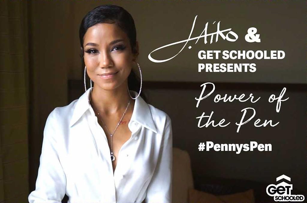 Jhene Aiko x #PennysPen Campaign