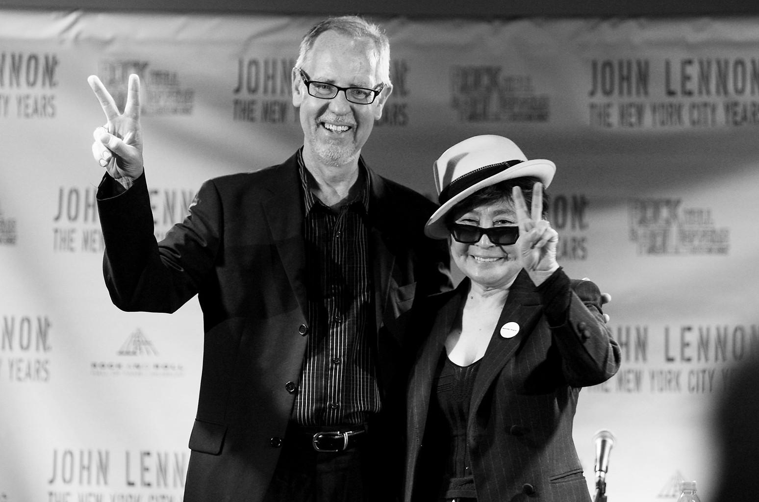 Jim Henke and Yoko Ono