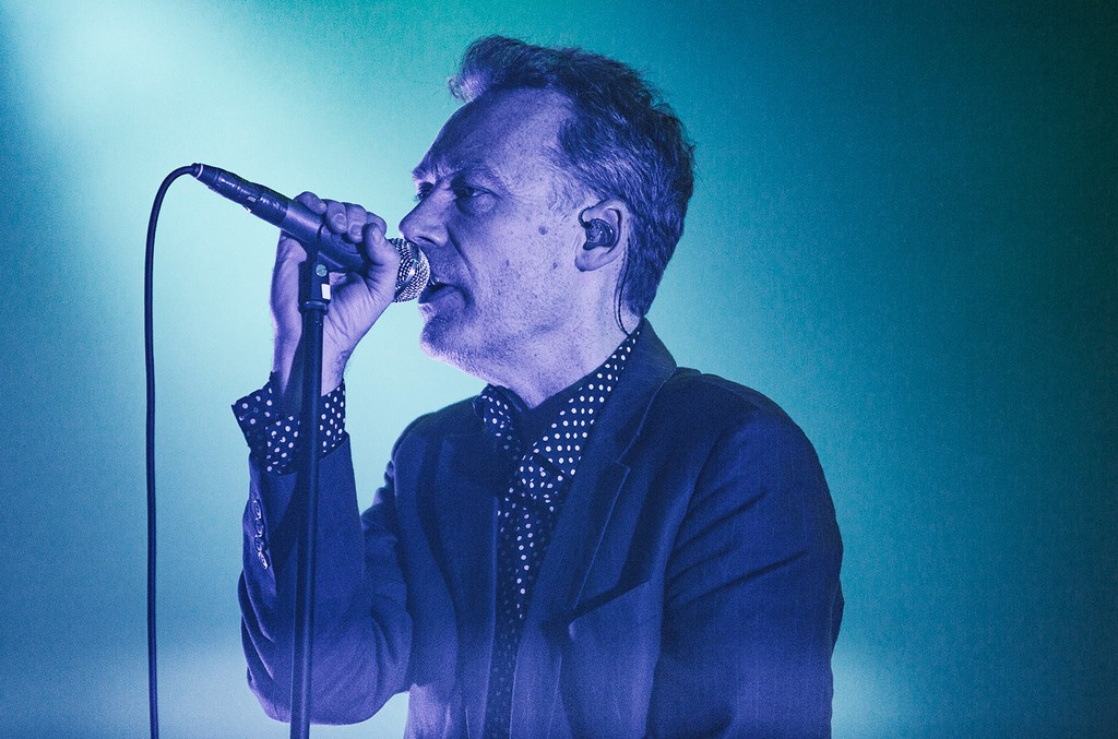 Jim Reid of The Jesus And Mary Chain performs on the stage two for Best Kept Secret Festival at Beekse Bergen on June 19, 2015 in Hilvarenbeek, Netherlands.