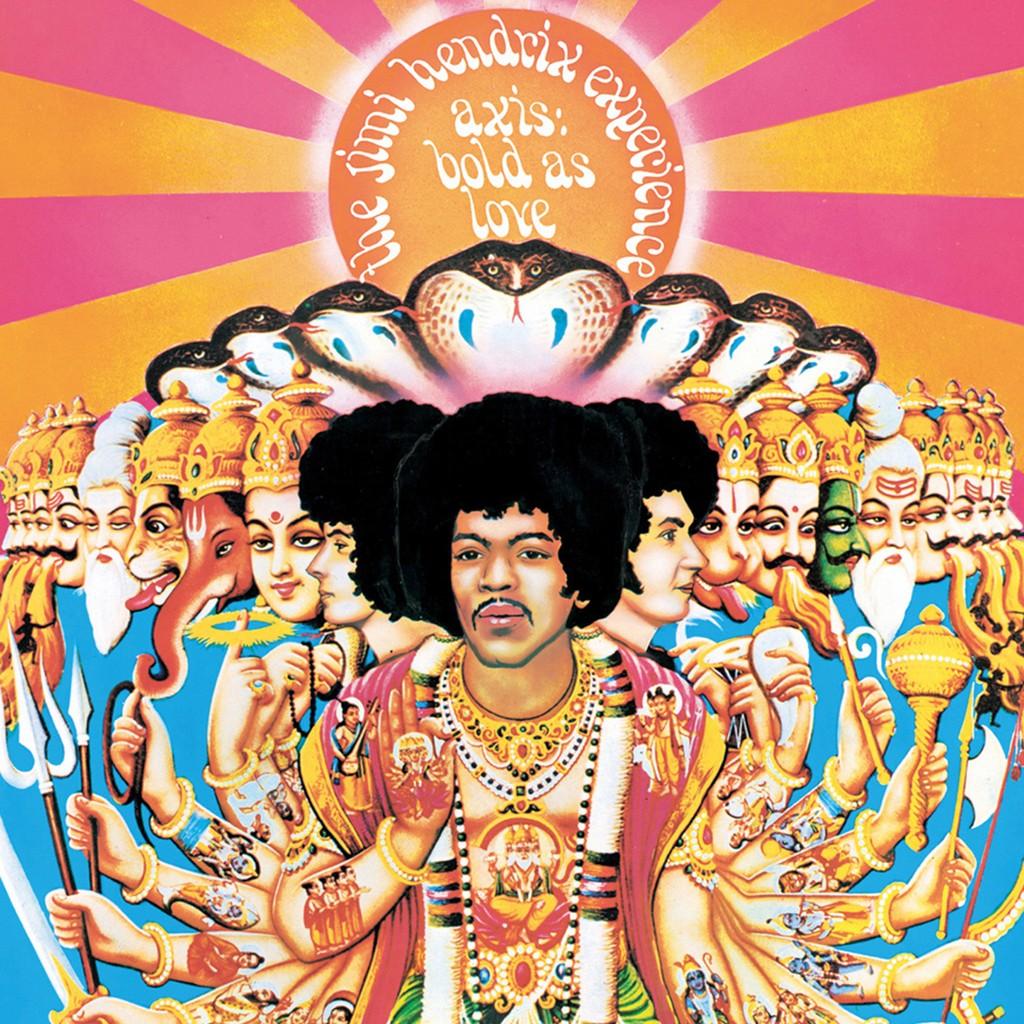 "Jimi Hendrix, ""Axis: Bold as Love"""