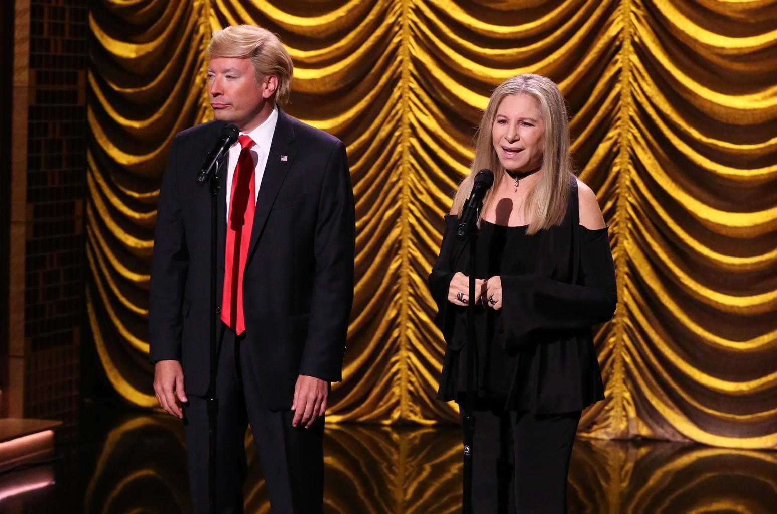 Jimmy Fallon & Barbra Streisand